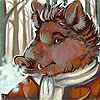 winter boar