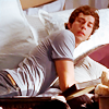 chuck: chuck on bed