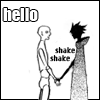 shinya @ damagepersecond: hello shake shake