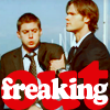 Paula: spn- freaking out