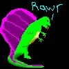 Dino: rawr