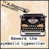 Geekery- Symbolic Typewriter