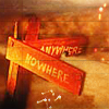 anywhere - nowhere