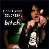 shot your goldfish