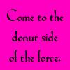 Morgyn: donuts