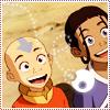 big grin, Avatar, smile, Aang/Katara
