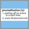 Procrastination <3