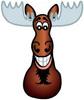 Moose: goatee