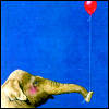 Ruth: Elephant with balloon