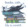 cats, books
