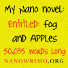 (formerly eclecticmum): nano: fog and apples