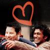 GQMF NICOLE: Heroes - Matt&Mo heart by ery