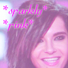 Bill sparkly pink