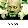 a clue
