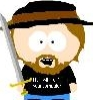 South Park hat sword shirt