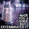 The dalek made cookies!