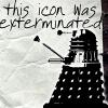doctor - dalek - icon exterminated