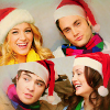 Gossip Girl Cast Christmas Icon