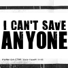 Can't save...