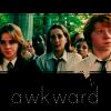 (in my dreams I'm) Samantha Weasley: awkward