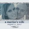a marine's wife