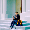 jenepel: GG: reading Rory (steps)