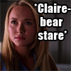 apology_dance: heroes - claire-bear stare
