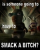 rabbid:  smack a bitch