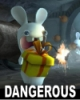 rabbid:  dangerous