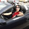 Barb in Opel Tigra Convertible