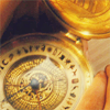 Daisy-chama: Golden Compass - compass