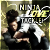 bardicvoice: Ninja Love Tackle by <lj user=cakehole_c