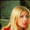 Buffy look up - writing breaks my brain