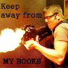 ancientcitadel: SG-1 - Daniel - Keep Away From My Books