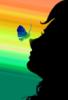 личико с бабочкой