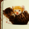 Miriamele: Kittens huggin'