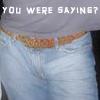 Steve Carlson - You were saying? crotch