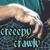 """who--john """"creepy crawly"""" hand"""