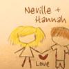 [HP] Neville/Hannah stick figures