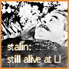 stalin alive