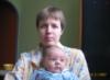 с сыном