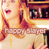 Lady Manson: Buffy - happy slayer