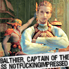 Balthier - Not impressed