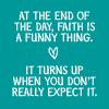 Faith -- Grey's Quote