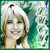 Lucy gold/green