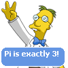 Pi is exactly three!