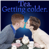 Tea. Getting colder.