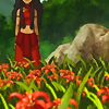 katara and flowers