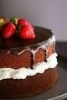 chocolate cake 2 (strawberries)