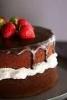chocolate cake 2 (strawberries)